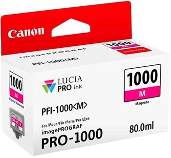 Canon cartridge PFI-1000M Magenta Ink Tank - 0548C001