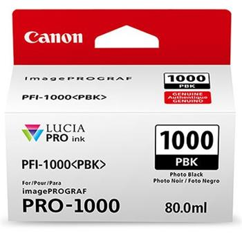 Canon cartridge PFI-1000PBK Photo Black Ink Tank - 0546C001