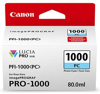 Canon cartridge PFI-1000PC Photo Cyan Ink Tank - 0550C001