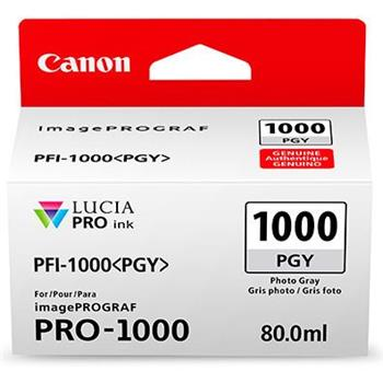 Canon cartridge PFI-1000PGY Photo Grey Ink Tank - 0553C001