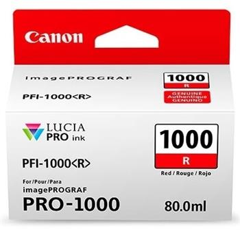 Canon cartridge PFI-1000R Red Ink Tank - 0554C001