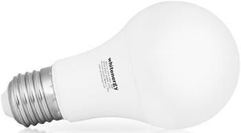 Whitenergy LED žárovka |E27|11 SMD 2835|10W|230V| mléko | studená bílá | A60 - 10220