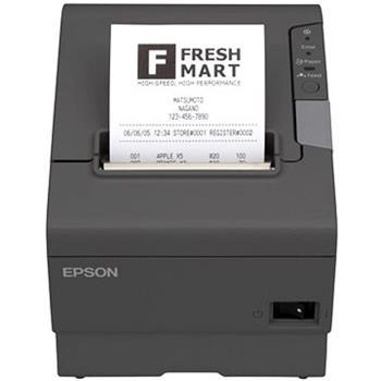 EPSON pokl. termo TM-T88V,tmavá,USB+WiFi.,zdroj,kabel - C31CA85321B0