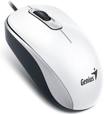 Myš Genius DX-110 USB bílá - 31010116109