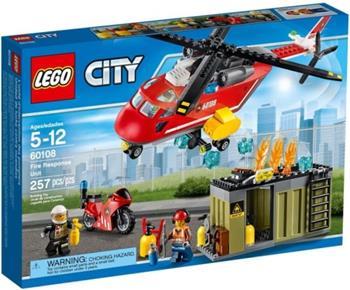 LEGO City - Hasičská zásahová jednotka 60108 - 60108