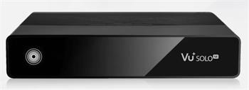 VU+ Solo SE V2 černý 1x Dual DVB-S2 - VU+ SOLO SE V2 B S2D