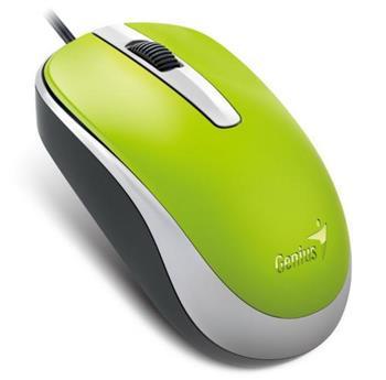 Myš Genius DX-120 USB zelená - 31010105110