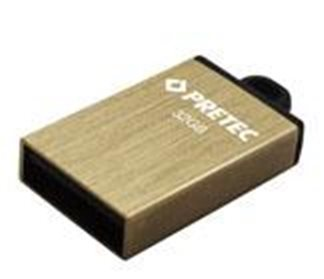 Pretec i-Disk Elite 8 GB gold - E2T08G-1G
