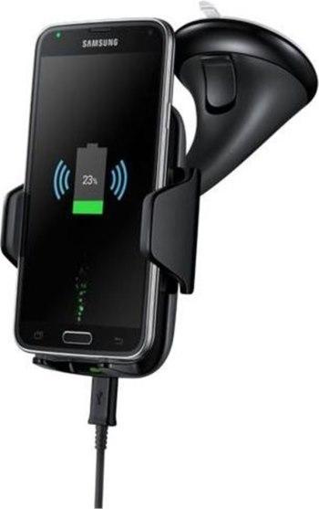 Samsung držák do auta univerzální s funkcní bezdrátového nabíjení EP-HN910I, černá - EP-HN910IBEGWW