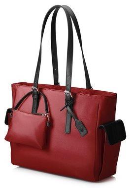 """HP 14"""" Ladies Slim Tote Case, červená dámská brašna na notebook T7B36AA - T7B36AA"""
