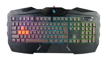 Klávesnice A4tech Bloody B254 podsvícená herní klávesnice, USB, CZ - B254