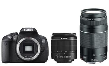 Canon EOS 700D + EF-S 18-55mm DC III + 75-300 DC III - 8596B226