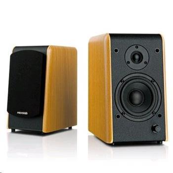 Microlab B77 stereo reproduktory 2.0, RMS 48W, MDF, barva dřeva - B77