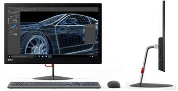 "Lenovo AIO ThinkCentre X1/ i5-6300U/ 8GB/ 8GB+1TB/ 23,8"" FHD IPS/ W7PRO+W10PRO - 10K00005MC"