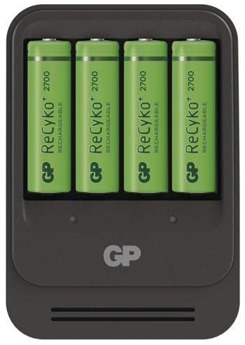 GP nabíječka baterií PB570 + 4 AA GP ReCyko+ 2700 - PB570