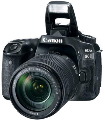 Canon EOS 80D + EF-S 18-135mm f / 3,5-5,6 IS USM - 1263C041