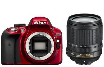 NIKON D3300 + 18-105 VR RED - D3300