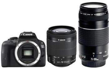 Canon EOS 100D + 18-55mm STM + 75-300mm DCIII - 8576B135