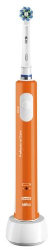 Braun ORAL-B PRO 400 ORANGE zubní kartáček - PRO 400 ORANGE