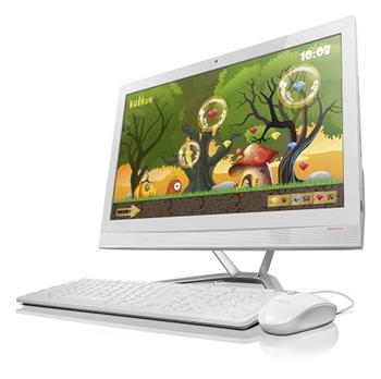 "Lenovo IdeaCentre AIO 300/ 4405U/ 4GB/ 500GB/ 21,5"" FHD/ DVD-RW/ WIN10 bílá - F0BX00A3CK"
