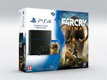 Sony Playstation 4 1TB + Far Cry Primal rozbaleno - PS719887744