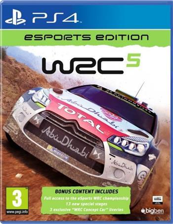 WRC 5 Esports editions PS4 - 3499550346565