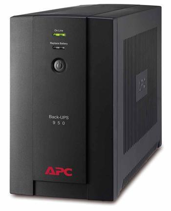 APC Back-UPS 950VA (480W), AVR, USB, IEC zásuvky - BX950UI