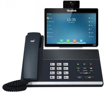 "Yealink SIP VP-T49G IP tel.,8"" bar.LCD,29tl.,GigE - 320A107"