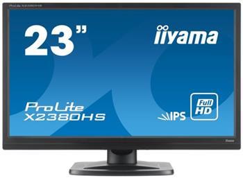 "LCD Monitor IIYAMA X2380HS-B1 - 23"" IPS, Full HD, HDMI, 5ms, repro - X2380HS-B1"