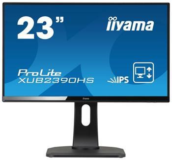 "LCD Monitor IIYAMA XUB2390HS-B1 - 23"" IPS, Full HD, HDMI, repro, Pivot - XUB2390HS-B1"