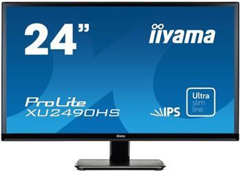 "LCD Monitor IIYAMA XU2490HS-B1 24"", IPS, Full HD, HDMI, repro - XU2490HS-B1"