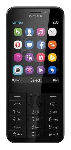 Mobilní telefon Nokia 230, Dark Silver - A00027221