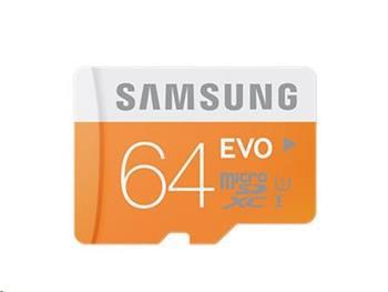 Samsung EVO micro SDXC 64GB class 10 - MB-MP64D/EU
