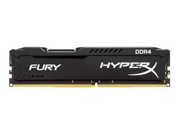 Kingston HyperX FURY Black Series 16GB 2400MHz DDR4 CL15 DIMM - HX424C15FB/16