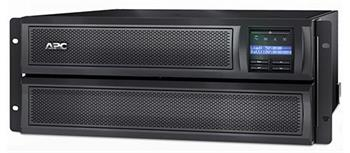 APC Smart-UPS X 3000VA (2700W) Rack 2U / Tower LCD, hl. 66,7 cm, with network card - SMX3000RMHV2UNC