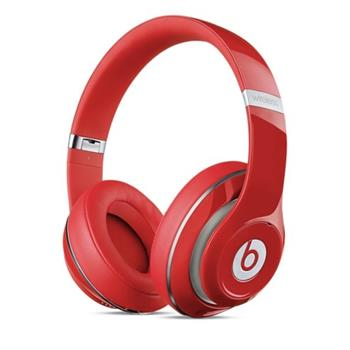 Apple Beats by Dr. Dre Studio Wireless Over-Ear Headphones - Red - MH8K2ZM/A