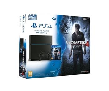 SONY PlayStation 4 1TB + Uncharted 4: Thiefs End - PS719802655