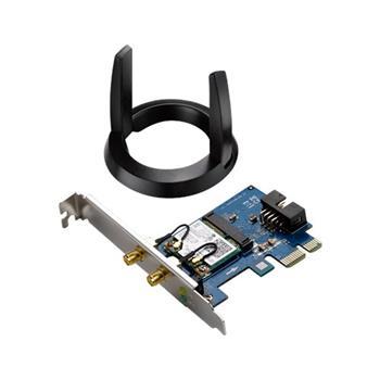 ASUS PCE-AC55BT AC1200 PCI-E card, Bluetooth 4.0 - 90IG02Q0-MM0010