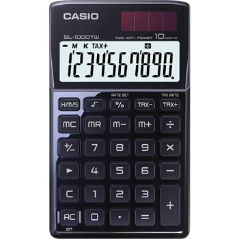 Casio kalkulačka SL 1000 TW BLACK - SL 1000 TW BLACK