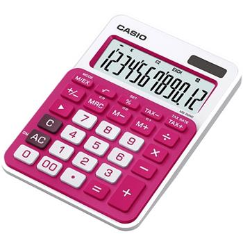 Casio kalkulačka MS 20 NC/RD - MS 20 NC/RD