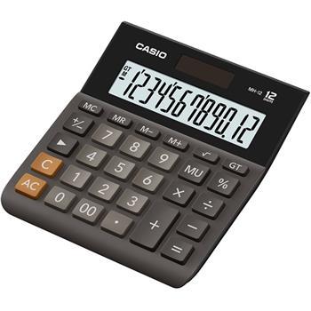 Casio kalkulačka MH 12 BK S EH - MH 12 BK S EH