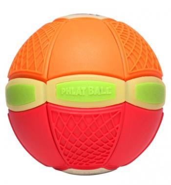 Phlat Ball junior svítící ve tmě - Oranžovo-červená - EP02209