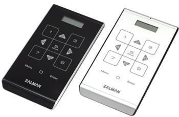 """Externí box Zalman ZM-VE500 černá 2,5"""" SATA, USB3.0, ALU, LED, AES256bit., virtual drive, černá - ZM-VE500 BLACK"""