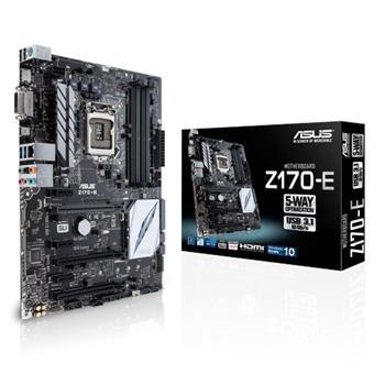 ASUS Z170-E, Intel Z170, 1151, ATX - 90MB0P60-M0EAY0