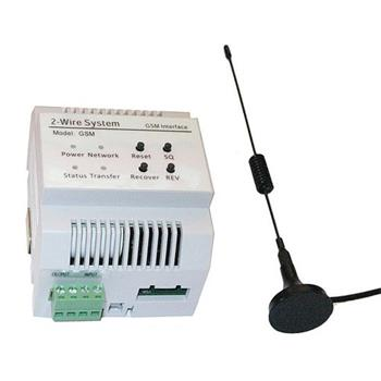 Adaptér pro připojení na GSM síť,přesměrovává hovor na tel.číslo,lze odemknout tónem,multiuser - DPA-D2-GSM