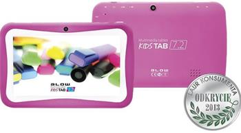 Tablet BLOW KidsTAB 7.4 pink + etui - 79-006#