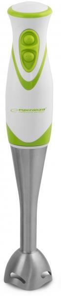 Esperanza EKM002G FRULLATO tyčový mixér, nerezový, bílo-zelený - EKM002G - 5901299914755