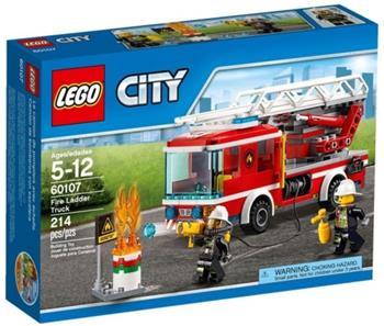 LEGO City - Hasičské auto s žebříkem 60107 - 60107