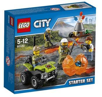 LEGO City - Sopečná startovací sada 60120 - 60120