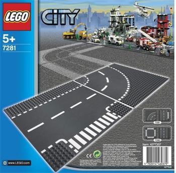 LEGO City - Zatáčka a křižovatka ve tvaru T 7281 - 7281